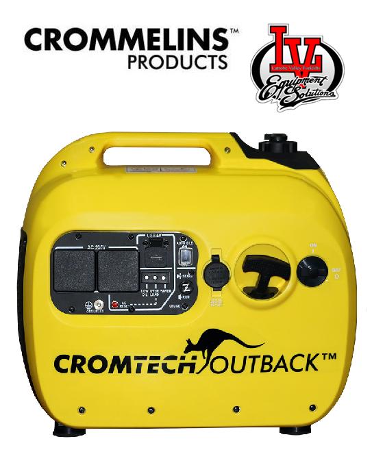 Cromtech Outback 2 4kva Portable Inverter Generator 2400w
