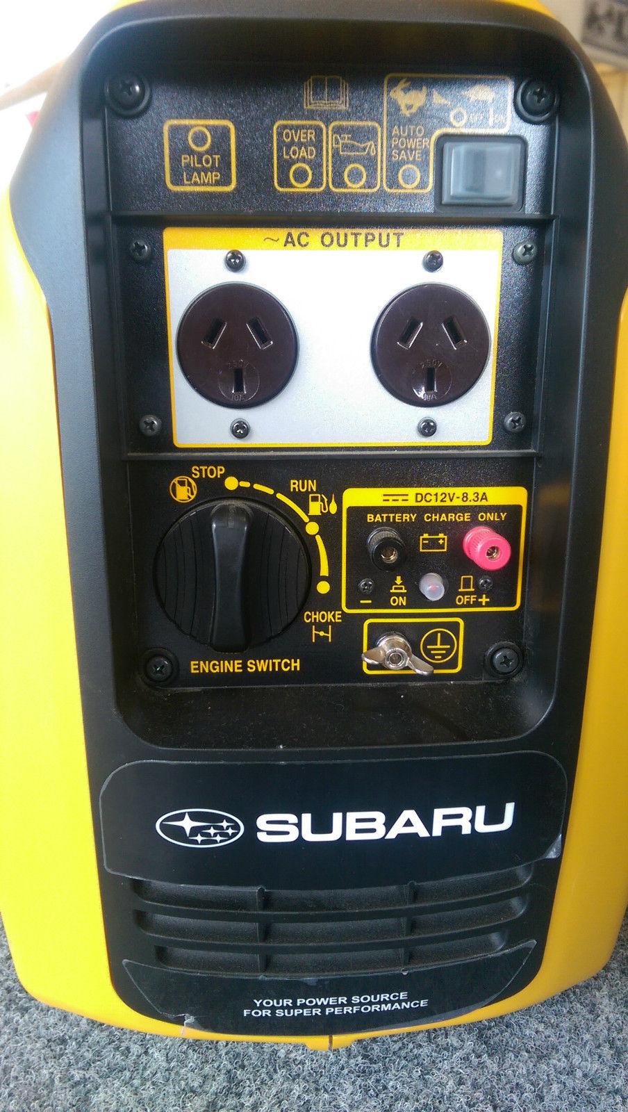 Subaru R1700i 1 65kva Portable Inverter Generator